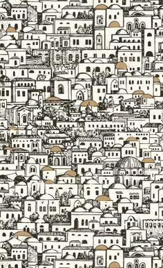 Cole Son Fornasetti II Materials Pinterest - Piero fornasetti wallpaper designs