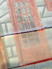 heat and bond method for making your own book cloth by Lizzie of LizzieMade