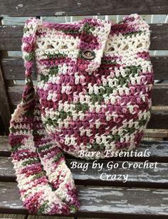 Bare Essentials Bag by Go Crochet Crazy