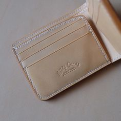 MILDY HANDS SW01 Short Wallet Shell Cordovan by MildyHands