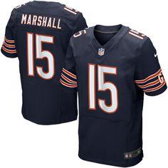 Nike Brandon Marshall Chicago Bears Elite Jersey – Navy Blue