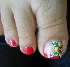 Cute Toe Nails, Cute Toes, Pretty Toes, Toe Nail Art, Short Nail Designs, Toe Nail Designs, Pedicure, Blue Acrylic Nails, Feet Nails