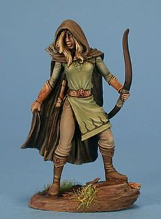 Female Ranger - Miniature Lines