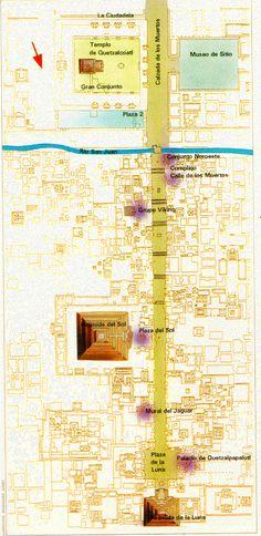 Mapa Arqueológico de Teotihuacan