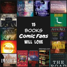 15 Books Comics Fans Will Love - Planet Jinxatron
