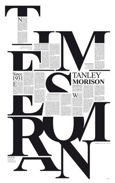 typography, editorial: