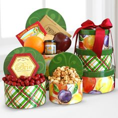 Holiday Harvest Sweet & Savory Tower