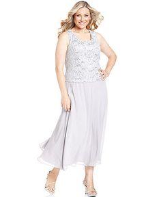 Jessica howard plus size dress and jacket