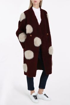 Layla Reverse Coat By ANNE VEST @ http://www.boutique1.com/