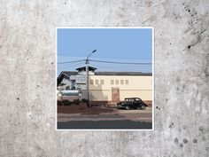 vintage car - PopArt, Drucken, Kunstdruck, sofort Download, instant, Poster, digital, Wanddekoration, modern, Himmel, blau von TPPcollective auf Etsy