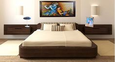 Picture of Siena Double Bed - Storage
