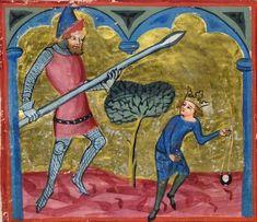 Manuscript BLB Donaueschingen 79 Weltchronik Folio 133v Dating 1365 From Southwestern, Deutschland Holding Institution Badische Landesbibliothek