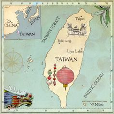 Map of Taiwan http://www.mytaiwantour.com/