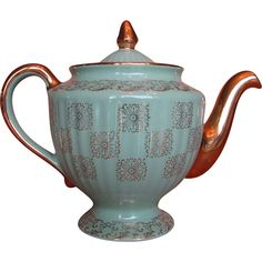 Hall China Los Angeles Monterey Teapot