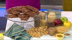 """Registered dietitian and nutritionist Maya Feller appeared live on """"Good Morning America"""" today to show tips on how to save time -- and money -- by preparing healthy breakfasts the night before.Feller shared her unique recipes for oatmeal, rice pudding, and homemade breakfast bars that are"""