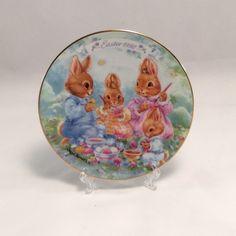 1992 Avon Easter Plate, Findavon.com