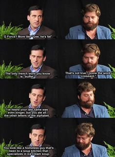 Poor Zach Galifianakis… LOL! #Owned