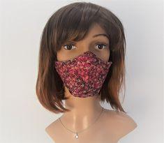 Design-Schutzmaske, Mundmaske, 3D Schnitt Mund,-Nasenschutzmaske Mundschutz, Baumwolle Punk Rock, Sephora, 3d, Etsy, Protective Mask, Masks, Handmade, Cotton, Weird
