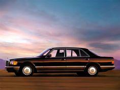 W126 - S Class sedan of the 80's