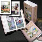 Paper Minis: Miniatures for Dollhouse Books, Page 1, volumes in easy-to-make pre-printed kits and handcrafted miniatures. All the books in the Classic I collection are also available as single purchases like this Mother Goose Rhymes book