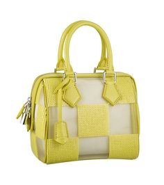 #LouisVuitton #LV #masterpiece #yellow #bag #summer #bold #color ♥