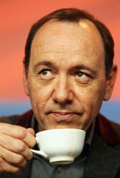 celebrities drinking coffee