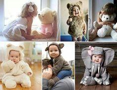 Preciosos disfraces para tu bebé.