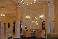 """Lindner-Hotel """"Beau Rivage"""" in der Schweiz."""