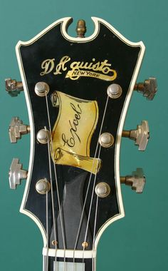 D'Aquisto (the most beautiful headstock ever designed)