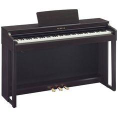 Yamaha Clavinova CLP525 Digital Piano, Rosewood at Gear4Music.com