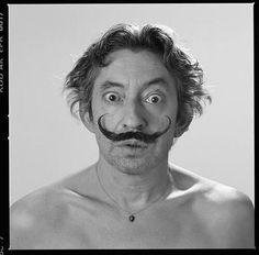 Serge Gainsbourg + Salvador Dalí