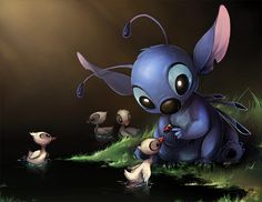 Stitch! My favorite Disney character after Ariel.