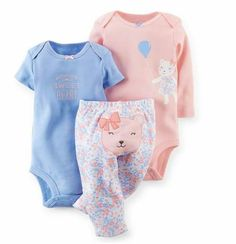 3a3915683a Baby Clothing Set 2018 New Newborn Bodysuits Toddler Top + Pants Infant  Baby Girls Boys Clothes Sets Christmas
