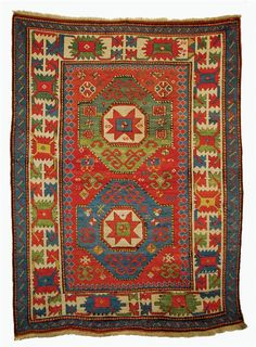 Grogan and Company | KAZAK RUG, Caucasus, circa 1875  7 feet x 5 feet