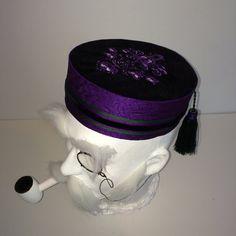 Haunted Mansion Gentlemens Victorian smoking hat cap fez