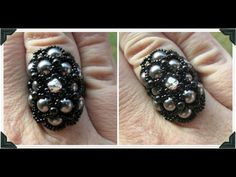 FREE Tutorial for EDEN RING by OffTheBeadedPath. This is also the beaded component you need to make the EDEN BRACELET!