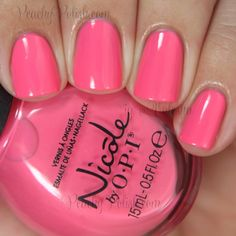 """Nicole by OPI """"Leapink For Joy"""" 