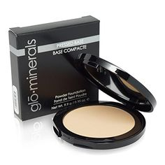 Glo Minerals Honey Light Pressed Base Powder Foundation, 0.35 Ounce >>> Find out more about the great product at the image link.
