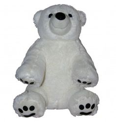 "Singing 16"" plush Polar Bear which plays custom music featuring your child's name."
