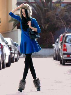 Zara Dress, Chanel Bag