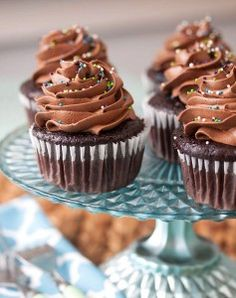 Perfect Chocolate Cupcakes