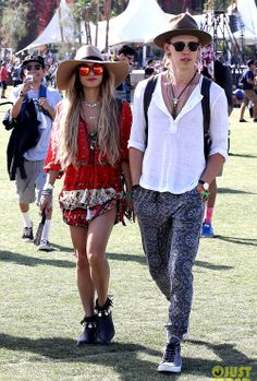 Undeniably King and Queen of Coachella Festival.