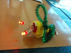 Another craft idea that was shared at the recent YAACS makerspace workshop was brought to us by Jen Lee, a children's librarian with the Vancouver Public Library. Circuit bugs are a simple and fun …