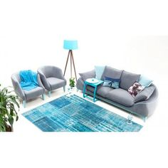 Saloni Bugatti Air Triple Sofa Upholstery Color: Gray
