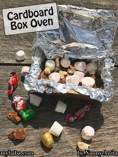 Cardboard box oven, a perfect summer activity for a hot and sunny day. Also a fun activity for a Scout or Guide camp. Outside Activities, Activities To Do, Educational Activities, Summer Activities, Things To Do Inside, Fun Things, Camping Hacks, Scouts, Oven