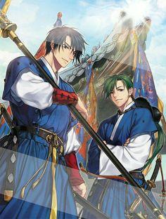Hak & Jae-ha - the perfect combination of badass and hilarious // Akatsuki no Yona Akatsuki No Yona, Anime Akatsuki, Magic Anime, Son Hak, Fille Anime Cool, Marvel Dc, Girl Standing, Hot Anime Guys, Anime Boys