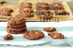 Beela Bakes: Chocolate Dulce De Leche Cookies