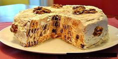 """Cake """"rotten stump"""" is very easy and simple to prepare. Even if you had never baked cakes, then this will have mandatory. Very unusual, with different tastes, t Russian Cakes, Russian Desserts, Russian Recipes, Sweet Recipes, Cake Recipes, Dessert Recipes, Enjoy Your Meal, Sweet Pastries, Pastry Cake"""
