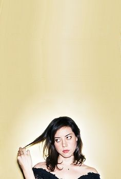"""Aubrey Plaza - """"The truth is stupid"""" - April Ludgate. Love her!"""