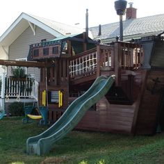 PIRATE SHIP PLAYHOUSE - this thing is the BOMB!!!